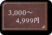 3,000~4,999円