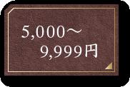 5,000円~9,999円