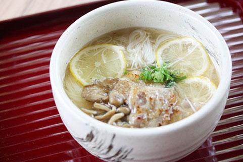千寿レモンにゅう麺
